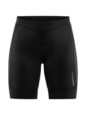 Craft Rise Shorts Radhose Schwarz Damen