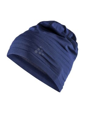 Craft Warm comfort Mütze Blau