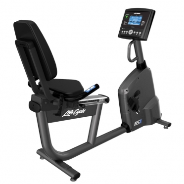 Life Fitness RS1 Liegeergometer LifeCycle Go console