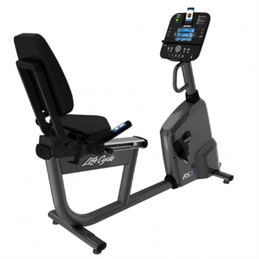 Life Fitness RS1 Liegeergometer LifeCycle Track+ console