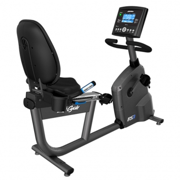Life Fitness RS3 Liegeergometer LifeCycle Go console
