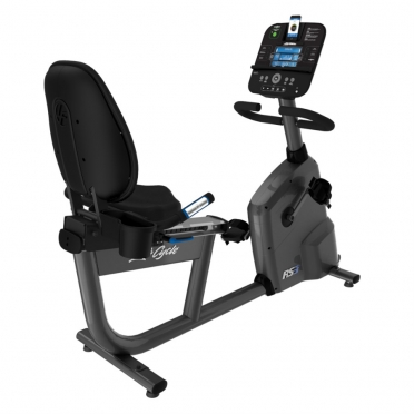 Life Fitness RS3 Liegeergometer LifeCycle Track+ console