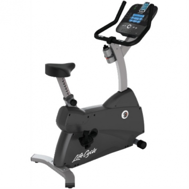 Life Fitness hometrainer LifeCycle C1 Track Console display