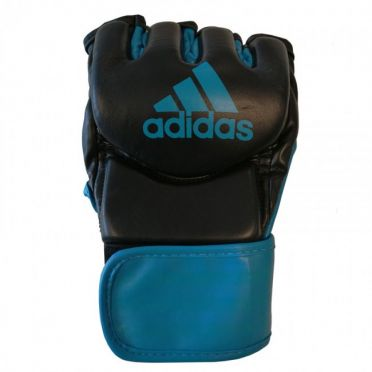 Adidas Traditional Grappling handschuhe Schwarz/Blau