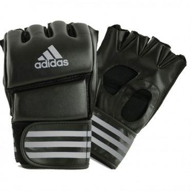 Adidas Grappling Training handschuhe Schwarz/Silber