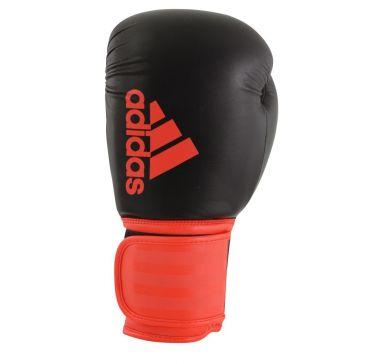 Adidas Hybrid 100 (Kick)Boxhandschuhe Schwarz/Rot