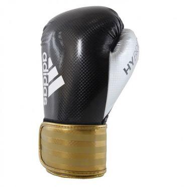 Adidas Hybrid 75 (Kick)Boxhandschuhe Schwarz/Gold
