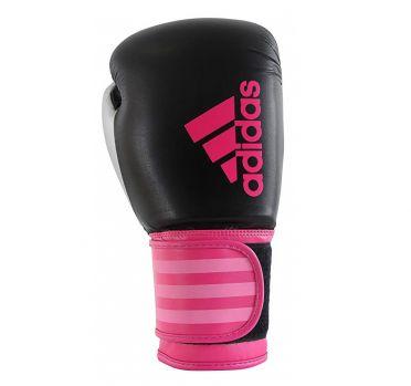 Adidas Hybrid 100 Dynamic Fit (Kick)Boxhandschuhe Schwarz/Rosa