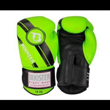 Booster Pro Range BGL V3 Leder Boxhandschuhe Grün