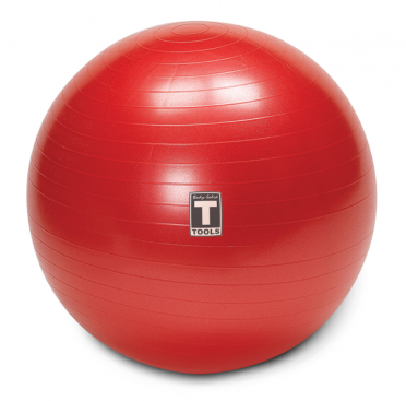 Body-Solid Gymnastikball 65cm Rot