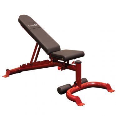Body-Solid Leverage Gym Hantelbänk