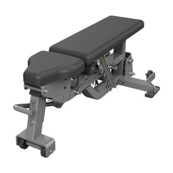 Hammer Strength Verstellbare Bank mit Dock 'N-Lock-System