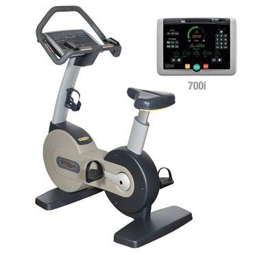 Technogym Heimtrainer Bike Excite+ 700i Silber gebraucht