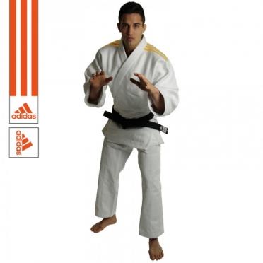 Adidas Judoanzug J690 Quest Weiß/Orange