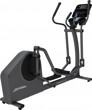Life Fitness Crosstrainer E1 Track Connect console