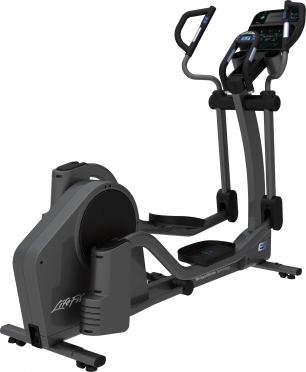 Life Fitness crosstrainer E5 Track Connect console