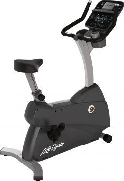 Life Fitness hometrainer LifeCycle C3 Track connect Console demo