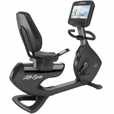 LifeFitness Recumbent Bike Platinum Club Series Discover SE WIFI PCSRE Kopie
