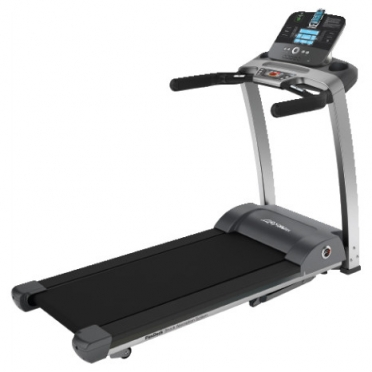 Life Fitness Laufband F3 Track+ console display