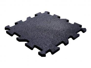 Lifemaxx Puzzle matte 20mm Crossmaxx jigsaw Rubber Fliese (50 x 50 cm)