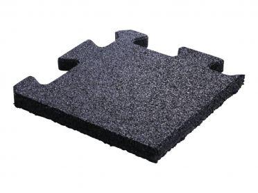 Lifemaxx Puzzle matte 20mm Crossmaxx jigsaw Rubber Ecke (25 x 25 cm)