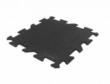 Lifemaxx Puzzle matte 10mm ECO Rubber Fliese (50 x 50 cm)