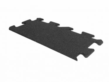 Lifemaxx Puzzle matte 10mm ECO Rubber Rand (50 x 25 cm)