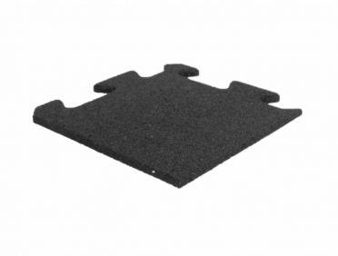 Lifemaxx Puzzle matte 10mm ECO Rubber Ecke (25 x 25 cm)