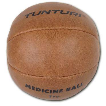 Tunturi Medizinball Kunstleder 1 kg Braun