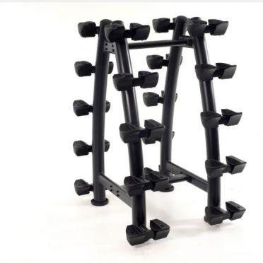 Muscle Power Hantel Rack vertikal für 10 Sätze Hanteln