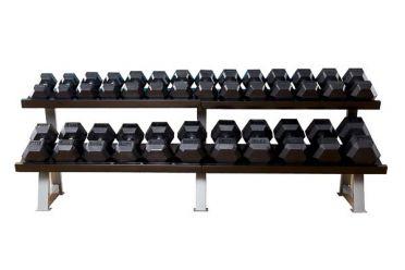 Muscle Power Hantel rek schwer 2-Lagen