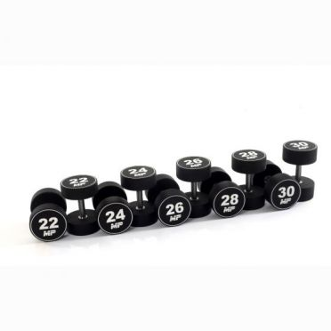 Muscle Power Dumbbellset Urethane 22 - 30 kg