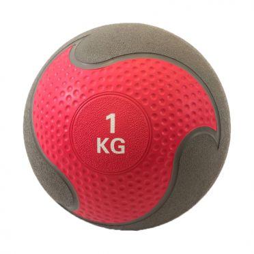 Muscle Power Medizinball Gummi 1 kg