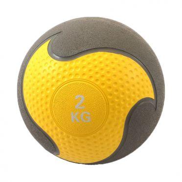 Muscle Power Medizinball Gummi 2 kg