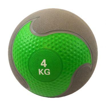 Muscle Power Medizinball Gummi 4 kg