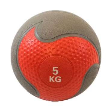 Muscle Power Medizinball Gummi 5 kg