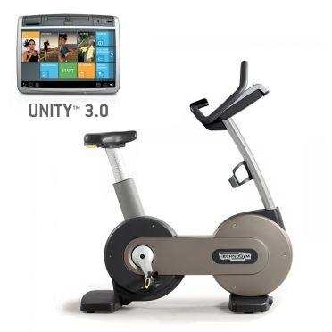 Technogym Heimtrainer Excite+ New Bike 700 Unity 3.0 Silber gebraucht