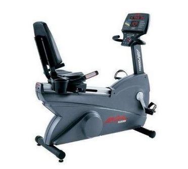 Life Fitness Liegeergometer 9500HR Next Generation gebraucht