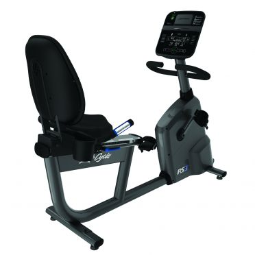 Life Fitness RS3 Liegeergometer LifeCycle Track Connect console