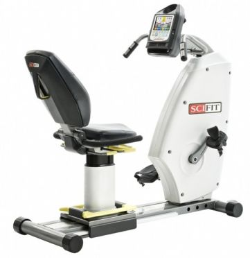 SciFit medizinischer Liegeergometer ISO7000R bi directional Premium-Sitz