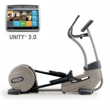 TechnoGym Crosstrainer Excite+ Synchro 700 Unity 3.0 Silber gebraucht