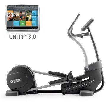 TechnoGym Crosstrainer Excite+ Synchro 700 Unity 3.0 Schwarz gebraucht