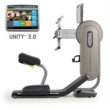 Technogym Arm Ergometer Excite+ Top 700 Unity 3.0 Silber gebraucht