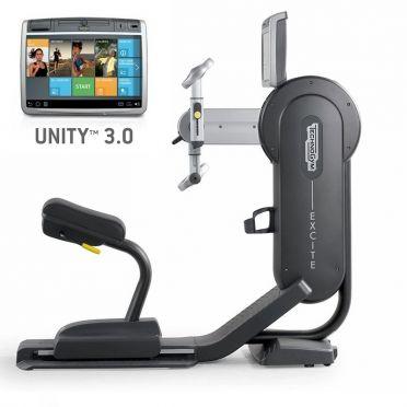 Technogym Arm Ergometer Excite+ Top 700 Unity 3.0 Schwarz gebraucht