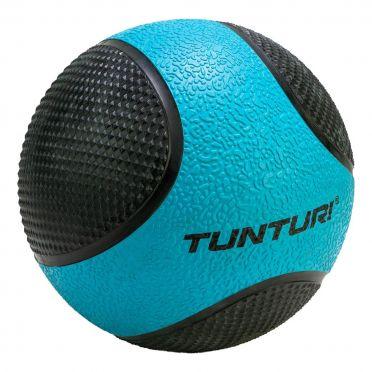 Tunturi Medizinball 4 kg Blau/Schwarz