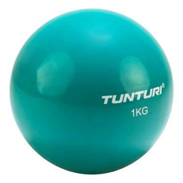 Tunturi Yoga Toning Ball 1 kg Türkis