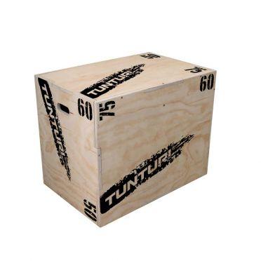 Tunturi Sprungbox Plyo Box Holz 50-60-75 cm