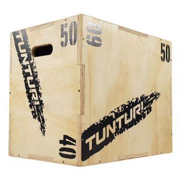 Tunturi Sprungbox Plyo Box Holz 40-50-60 cm
