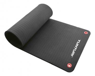 Tunturi NBR professional fitnessmat schwarz 180cm 14TUSFU266