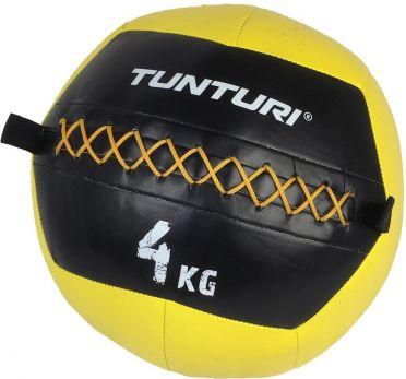 Tunturi Wall ball 4kg Gelb